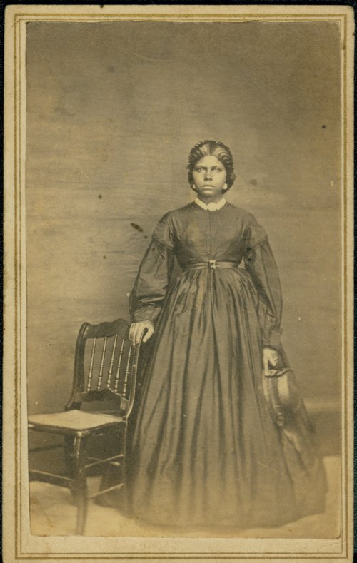 Unidentified African-American woman - Page