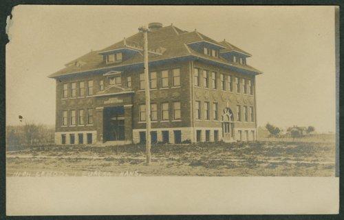 Eureka High School in Eureka, Kansas - Page
