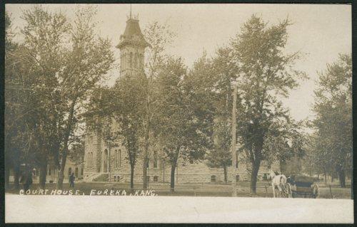 Greenwood County courthouse in Eureka, Kansas - Page