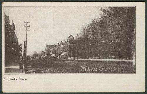 View of Main Street in Eureka, Kansas - Page