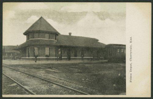 St. Louis-San Francisco Railway depot, Cherryvale, Kansas - Page
