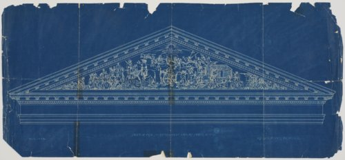 Sketch for the south pediment on the Kansas state house in Topeka, Kansas - Page