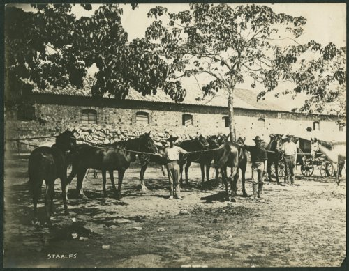 Stables at Fort Riley, Kansas - Page