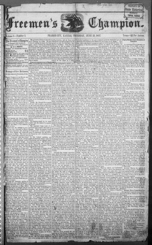 Freemen's Champion - Page