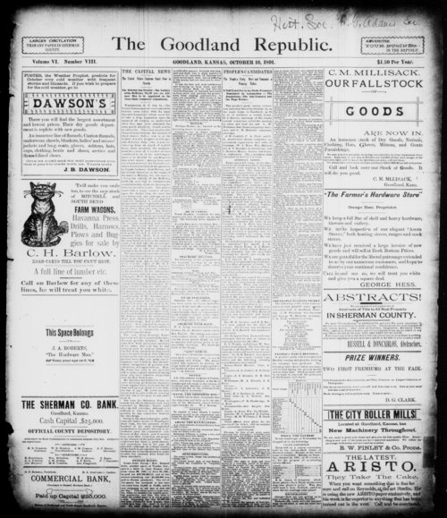 The Goodland Republic - Page