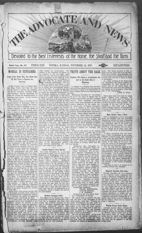 The Advocate and News - Page