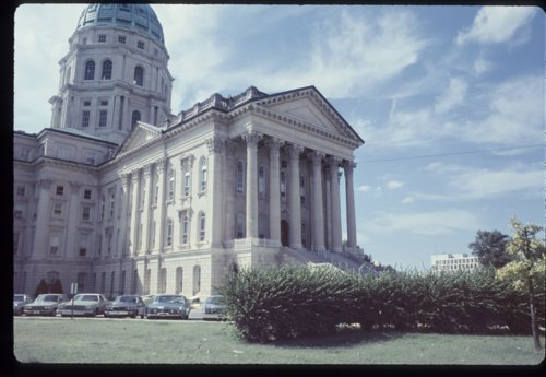 East wing of the Kansas capitol in Topeka, Kansas - Page