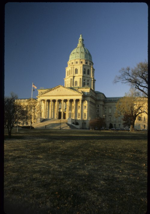 Kansas capitol in Topeka, Kansas - Page