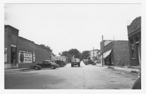 Business street in Perry, Kansas - Page