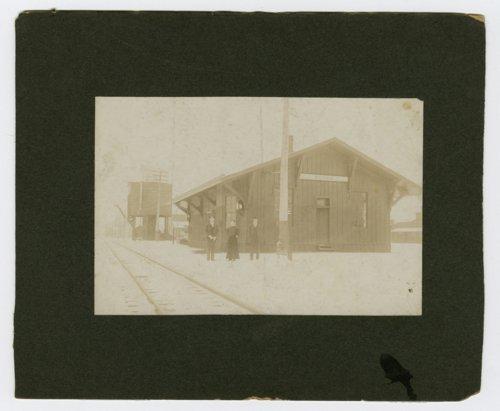 Union Pacific Railroad Company depot Perry, Kansas - Page