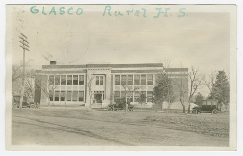 Glasco Rural High School in Glasco, Kansas - Page