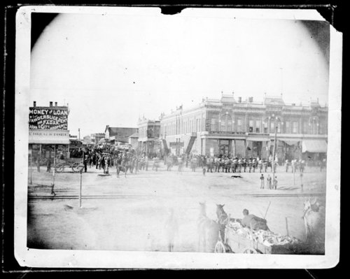 Alonzo B. Webster funeral, Dodge City, Kansas - Page