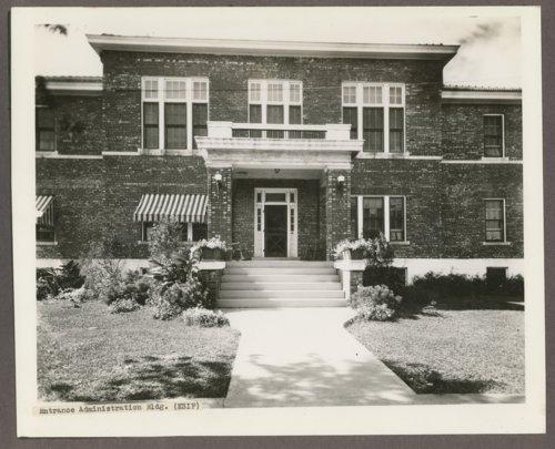 Administration building at the Kansas Women's Industrial Farm, Lansing, Kansas - Page