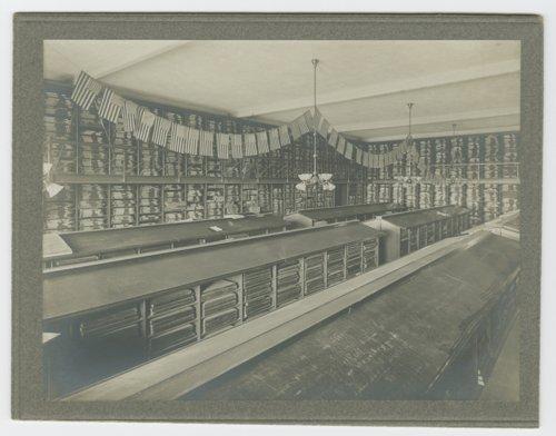 Kansas Historical Society's newspaper stack room, Topeka, Kansas - Page