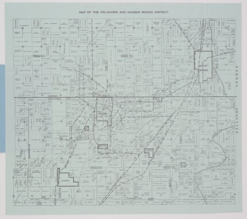 Map of the Oklahoma and Kansas mining district - Page