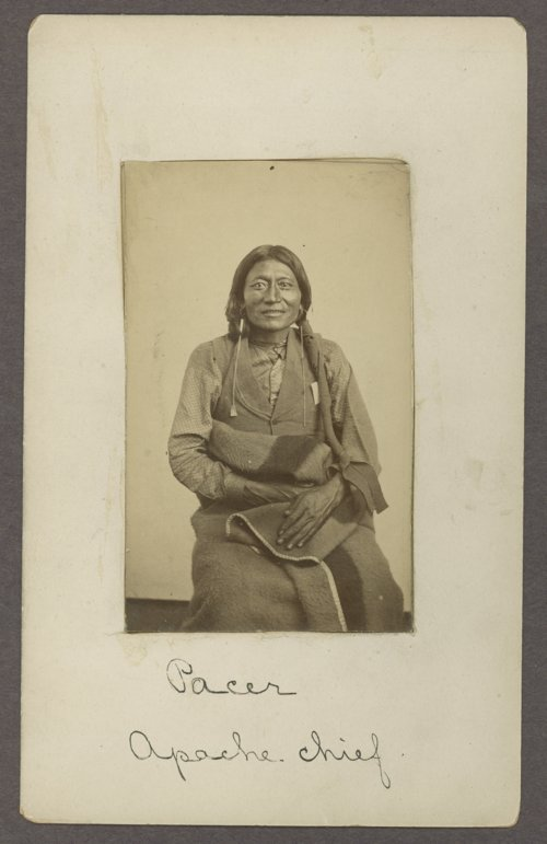 Pacer, Kiowa-Apache chief, in Indian Territory - Page