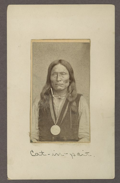 Cat-in-pait, Kiowa man, in Indian Territory - Page