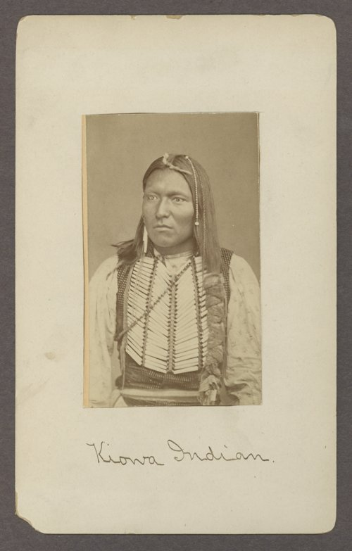 Kiowa man in Indian Territory - Page