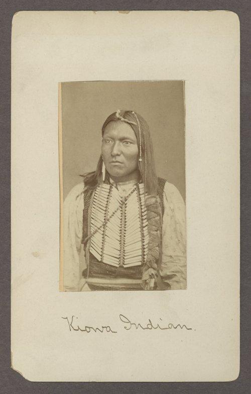 Kiowa man in Indian Territory - Page