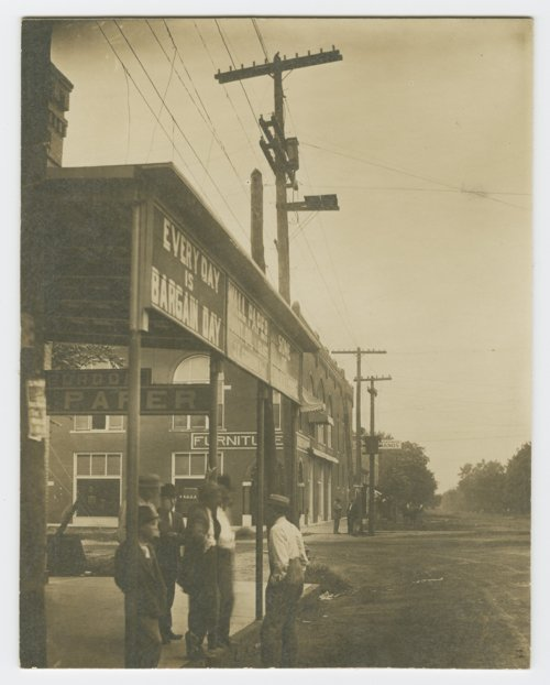 Businesses on Pine Street in Columbus, Kansas - Page