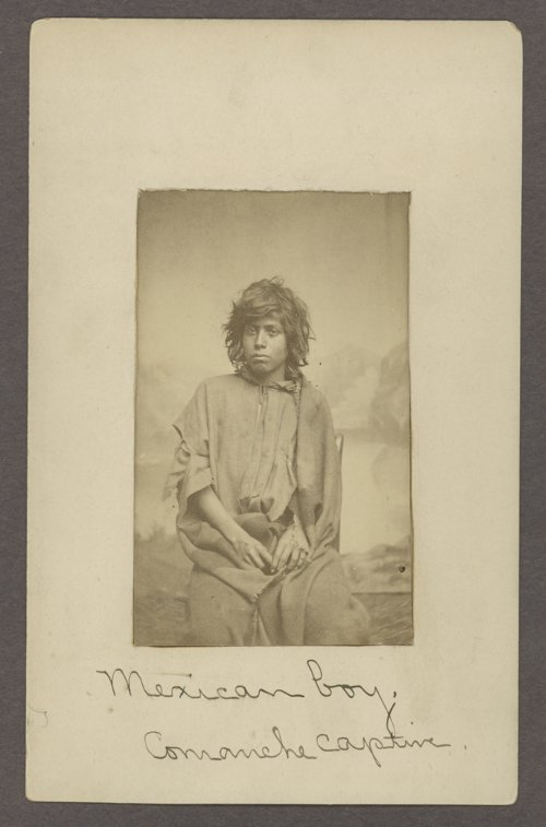 Mexican boy, Comanche captive, in Indian Territory - Page