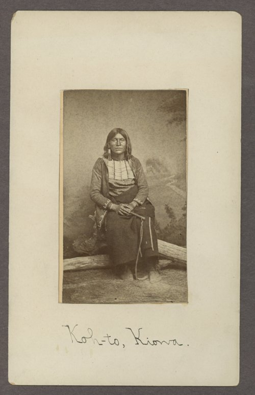 Koh-to, Kiowa brave, in Indian Territory - Page