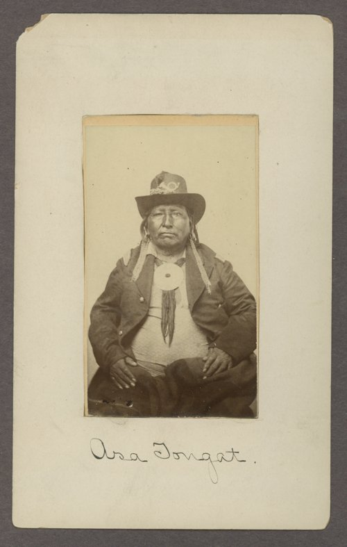 Asa Tongat, Kiowa man, in Indian Territory - Page