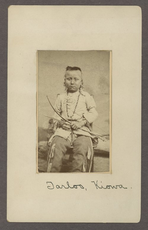 Tar-loo, Kiowa boy, in Indian Territory - Page