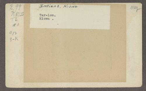 Tar-loo, Kiowa boy, in Indian Territory - Page