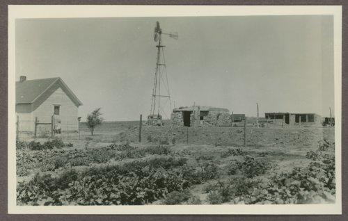 Henry E. Wilson's family garden in Hamilton County, Kansas - Page