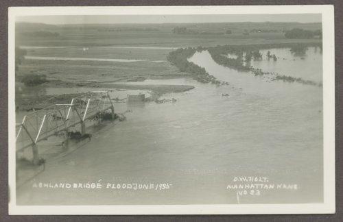 Flood scenes in Manhattan, Kansas - Page