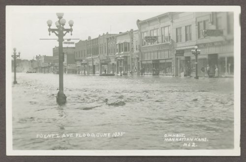 Flood scenes in Manhattan, Kansas - Page