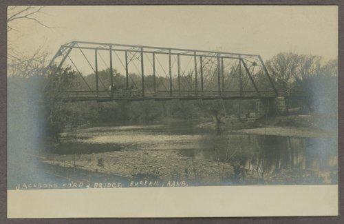 Jackson's ford and bridge in Eureka, Kansas - Page