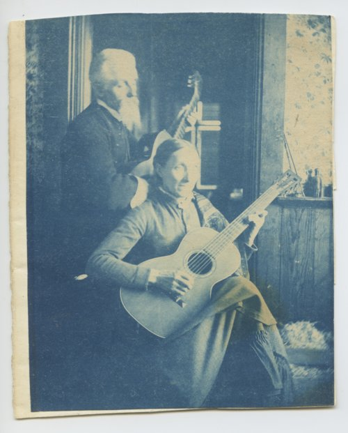 Henry and Mary Worrall playing guitars - Page