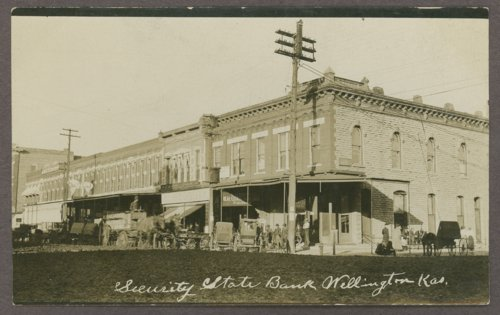 Security State Bank in Wellington, Kansas - Page