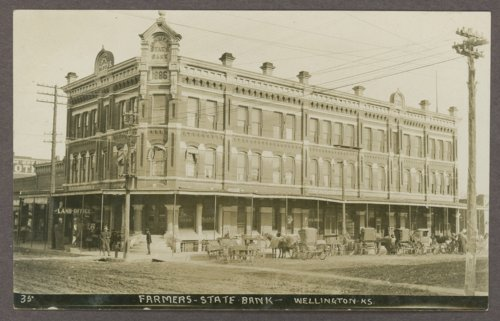 Farmers State Bank in Wellington, Kansas - Page