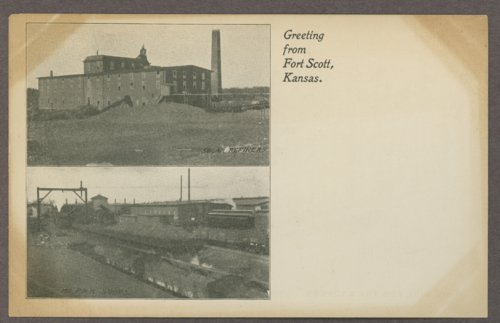 Greeting from Fort Scott, Kansas - Page