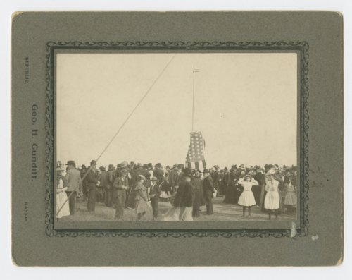 Unveiling the Pike monument at Pawnee Village, Republic County, Kansas - Page