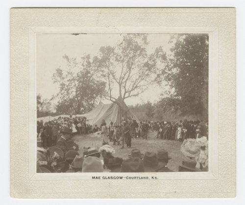 Indian dance and celebration at Pawnee Village, Republic County - Page