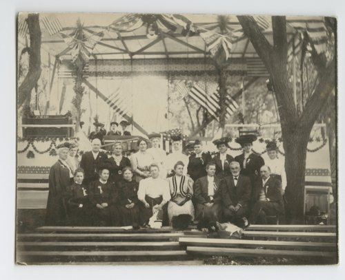 Views of the celebration at Pawnee Village, Republic County - Page