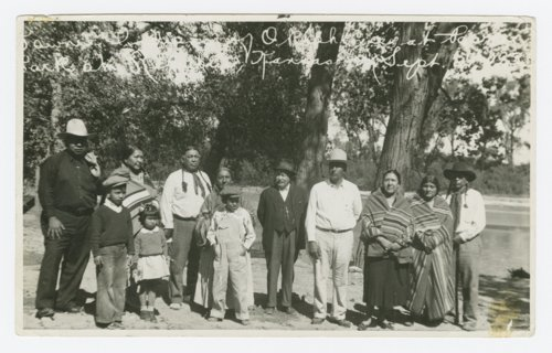 Pawnee Indians from Oklahoma at a Pawnee Village celebration - Page