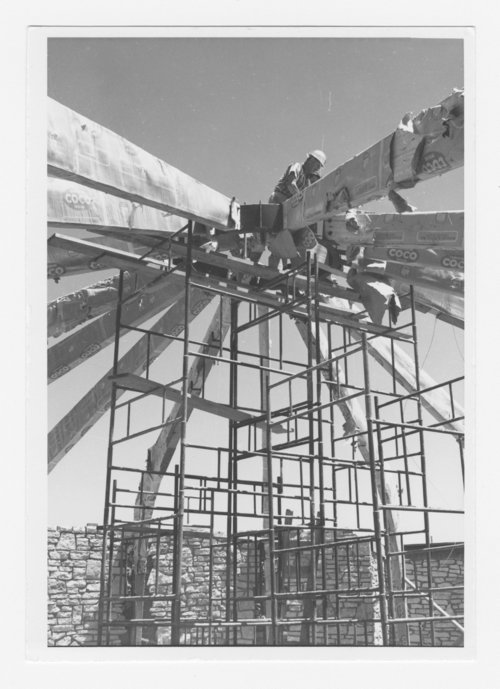 Views of contruction and excavation for the Pawnee Indian Village Museum - Page