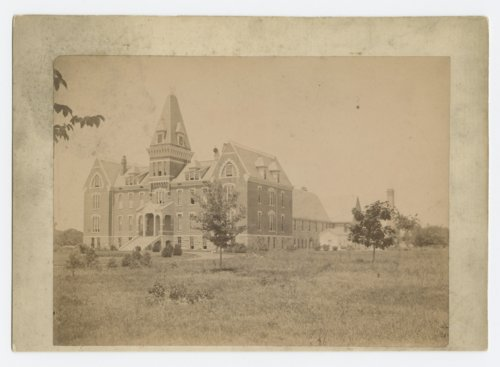 Main building and chapel at the Industrial School for Boys, Topeka, Kansas - Page