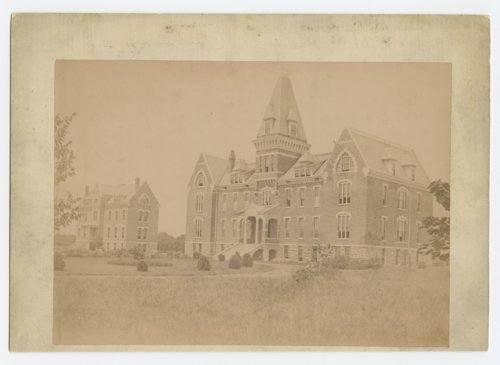 Main building and west cottage at the Industrial School for Boys, Topeka, Kansas - Page
