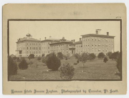Kansas State Insane Asylum in Osawatomie, Kansas - Page