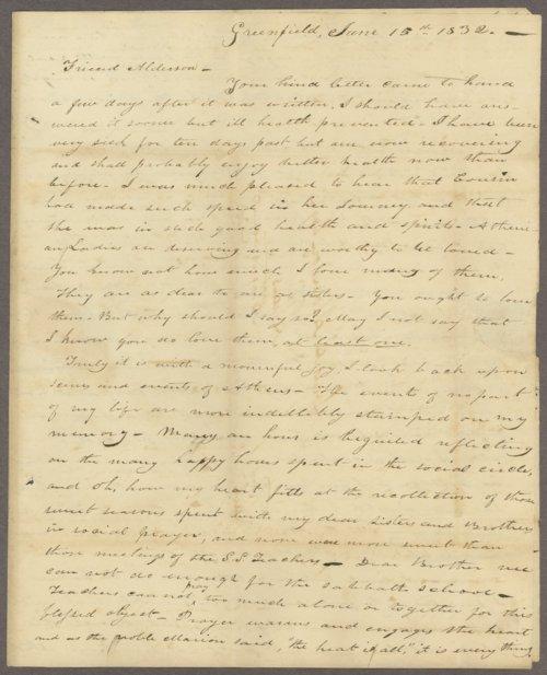 I. T. Irwin to Lewis Allen Alderson - Page
