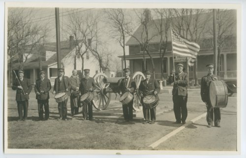 Drum corps at the State Soldiers Home in Dodge City, Kansas - Page
