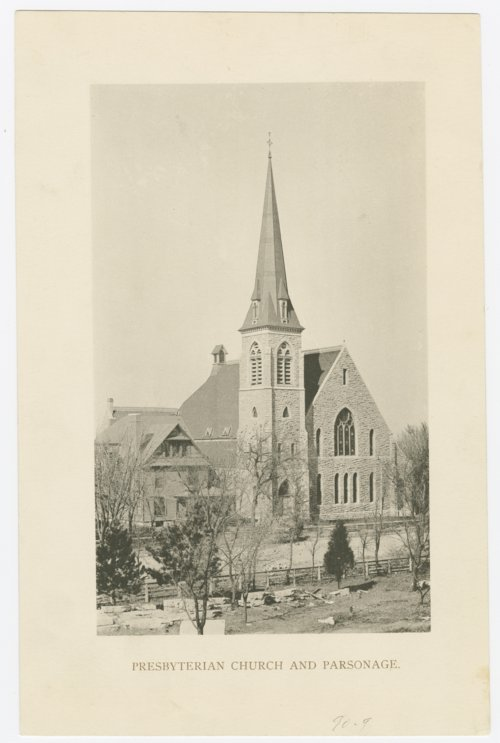 Presbyterian Church and parsonage in Topeka, Kansas - Page