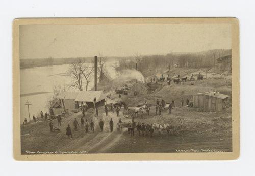 Stone crushers in Lecompton, Kansas - Page