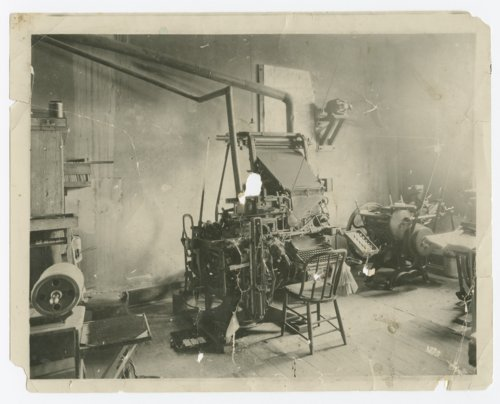 Possible Lecompton Sun printing press and office, Lecompton, Kansas - Page